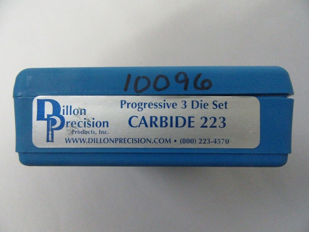 Dillon - .223/5.56 Rem Carbide 3 Die set