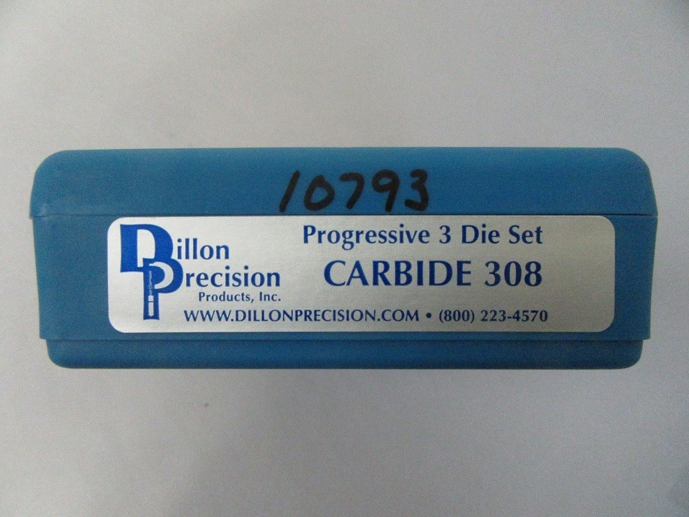 Dillon - .308 Win Carbide 3 Die set