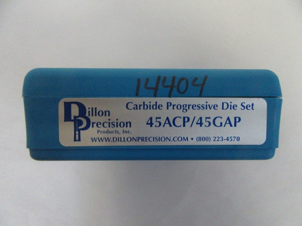 Dillon - 45acp CARBIDE 3 DIE SET