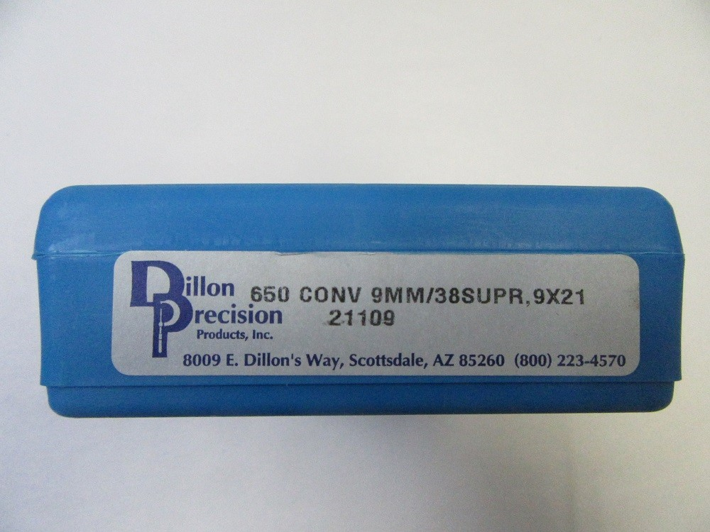 Dillon - XL650 9mm/38 Super CONVERSION KIT