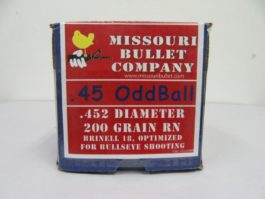 Missouri Bullet Co - 45 cal (.452) 200gr RNFB Oddball /500