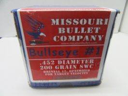 Missouri Bullet Co  - 45 Cal (.452) LEAD 200gr LSWC #1 500/Box