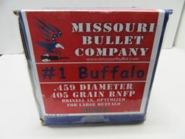 Missouri Bullet Co - 45-70 (.458) 405gr RNFP CAST LEAD BULLET 200/Box