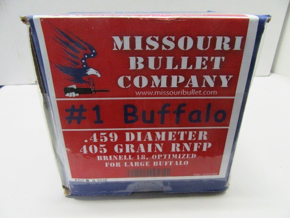Missouri Bullet Co - 45-70 (.458) 405gr RNFP CAST LEAD BULLET 200/Box