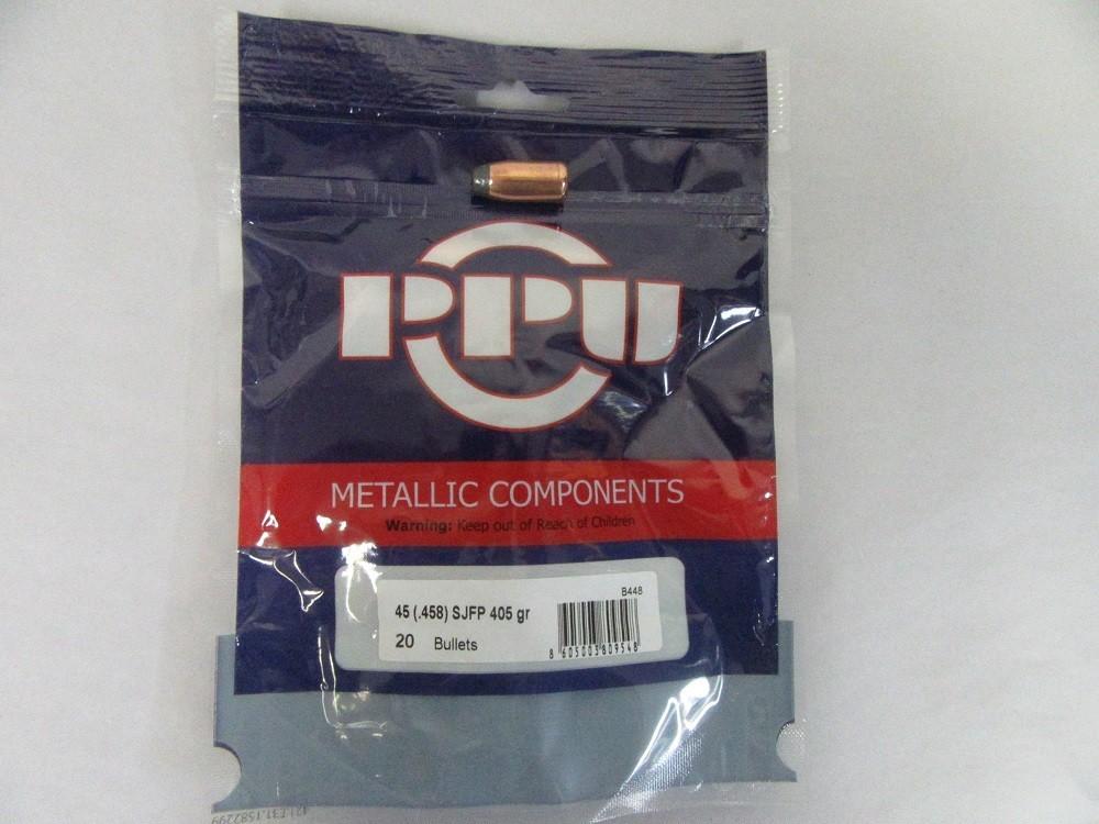 PRVI - 45-70 BULLET  (.457'') 405gr SJSP 20/Bag