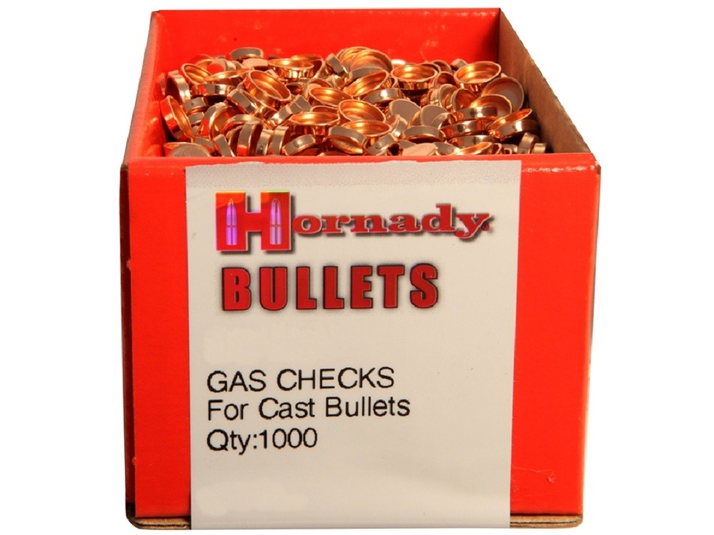 HORNADY - .35 Cal Gas Checks 1000/box