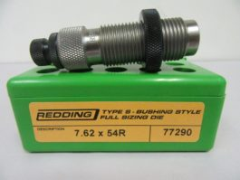 REDDING - NEW 7.62 X 54R TYPE S BUSHING FULL BODY DIE