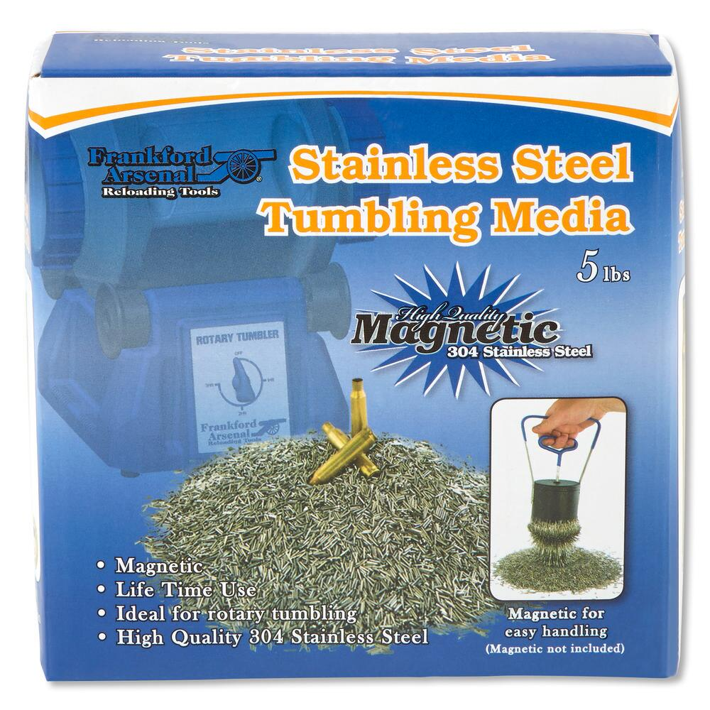 FRANKFORD ARSENAL - Stainless Steel Tumbling Media 5 lb Box
