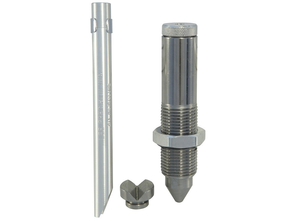 LEE - LEAD HARDNESS TESTER w/BALL INDENT/MICROSCOPE