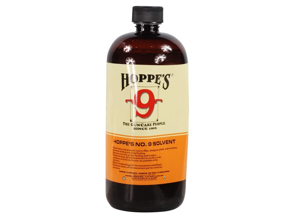 Hoppes - #9 POWDER SOLVENT 32oz BOTTLE