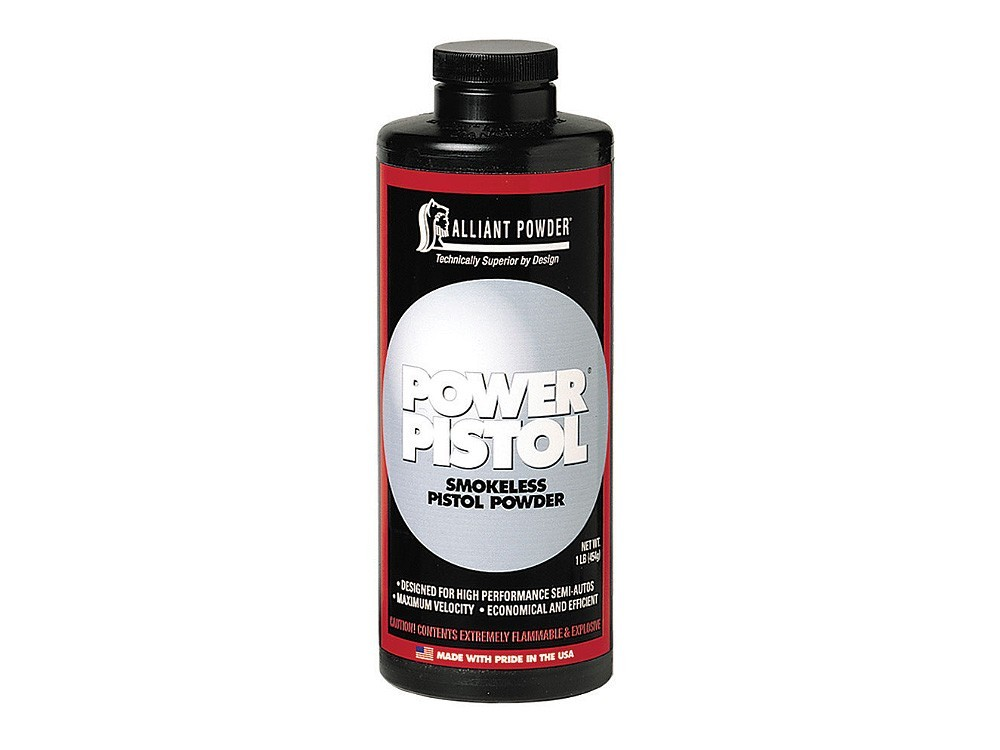 Alliant - POWER PISTOL 1lb Smokeless Powder 1