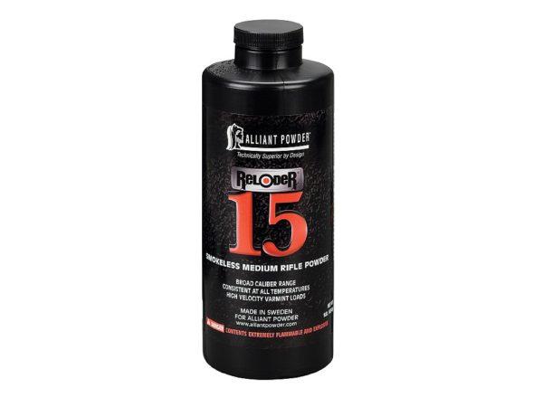 Alliant - RELODER 15 1lb Smokeless Powder 1
