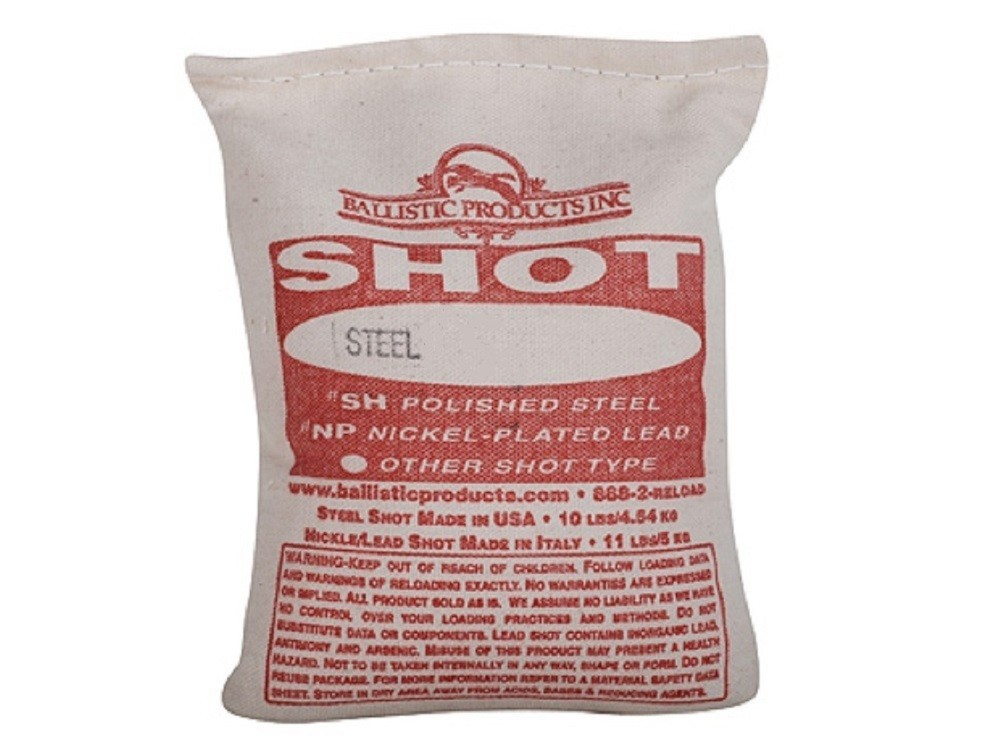 "BPI - Steel Shot # 2 (.150"") 10 lb Bag"