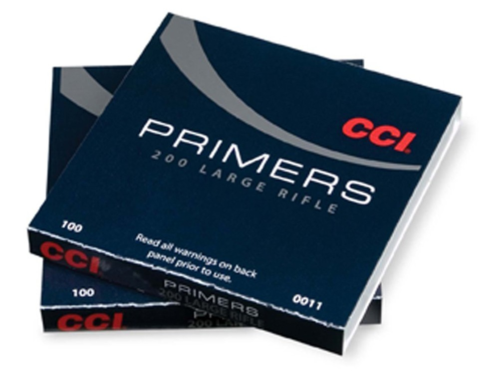 CCI - PRIMER #200 LARGE RIFLE 100/SLEEVE
