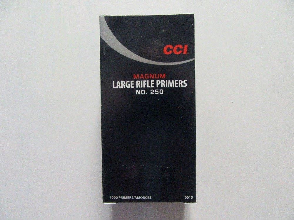 CCI - PRIMER #250 LARGE RIFLE Magnum 1000/bx