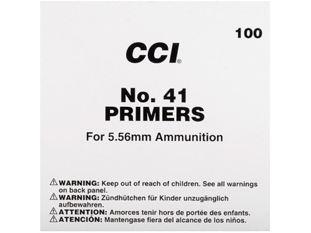 CCI - #41 NATO SPEC SMALL RIFLE PRIMERS 100/SLEEVE