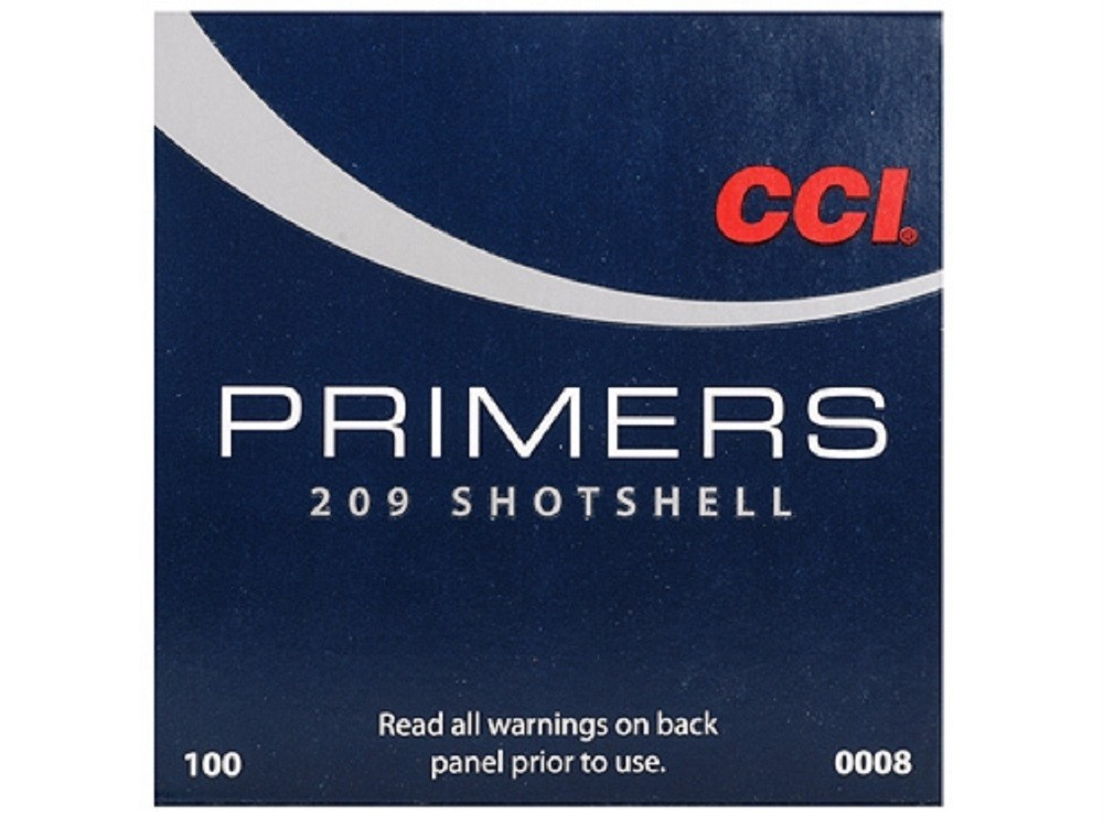 CCI - Primers #209 Shotshell /1000