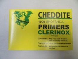 Cheddite - Shotshell 209 PRIMER 1000/BOX