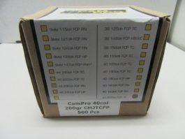 CamPro - 40 cal (.401) 200gr Trunc Cone FP BULLET 500/Box