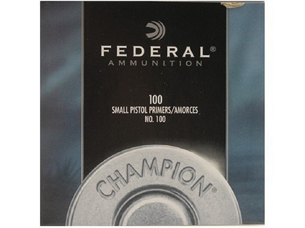 FEDERAL - PRIMER SMALL PISTOL 1000/BX