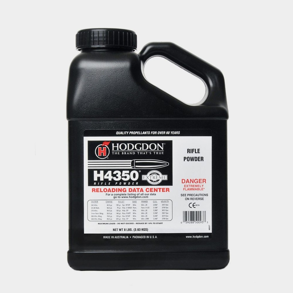 Hodgdon - H4350 8LB Smokeless Powder KEG