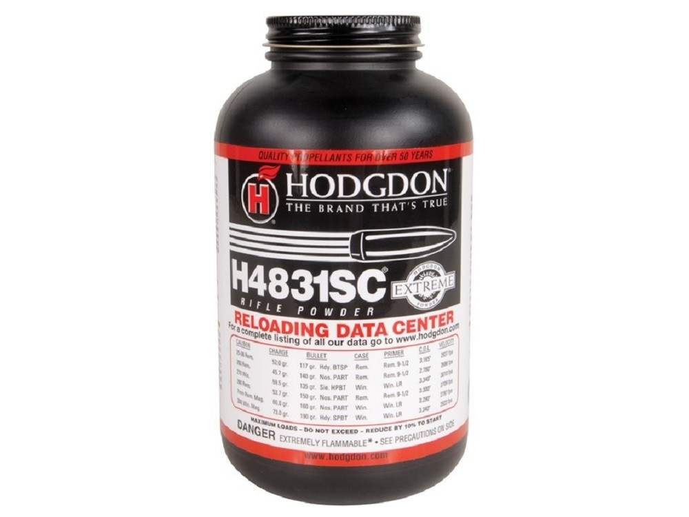 Hodgdon - H4831-SC SHORTCUT 1LB POWDER  Smokeless Powder