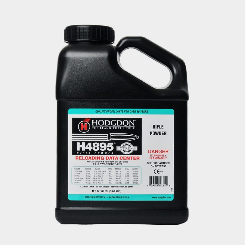 Hodgdon - H4895 8lb Smokeless Powder KEG