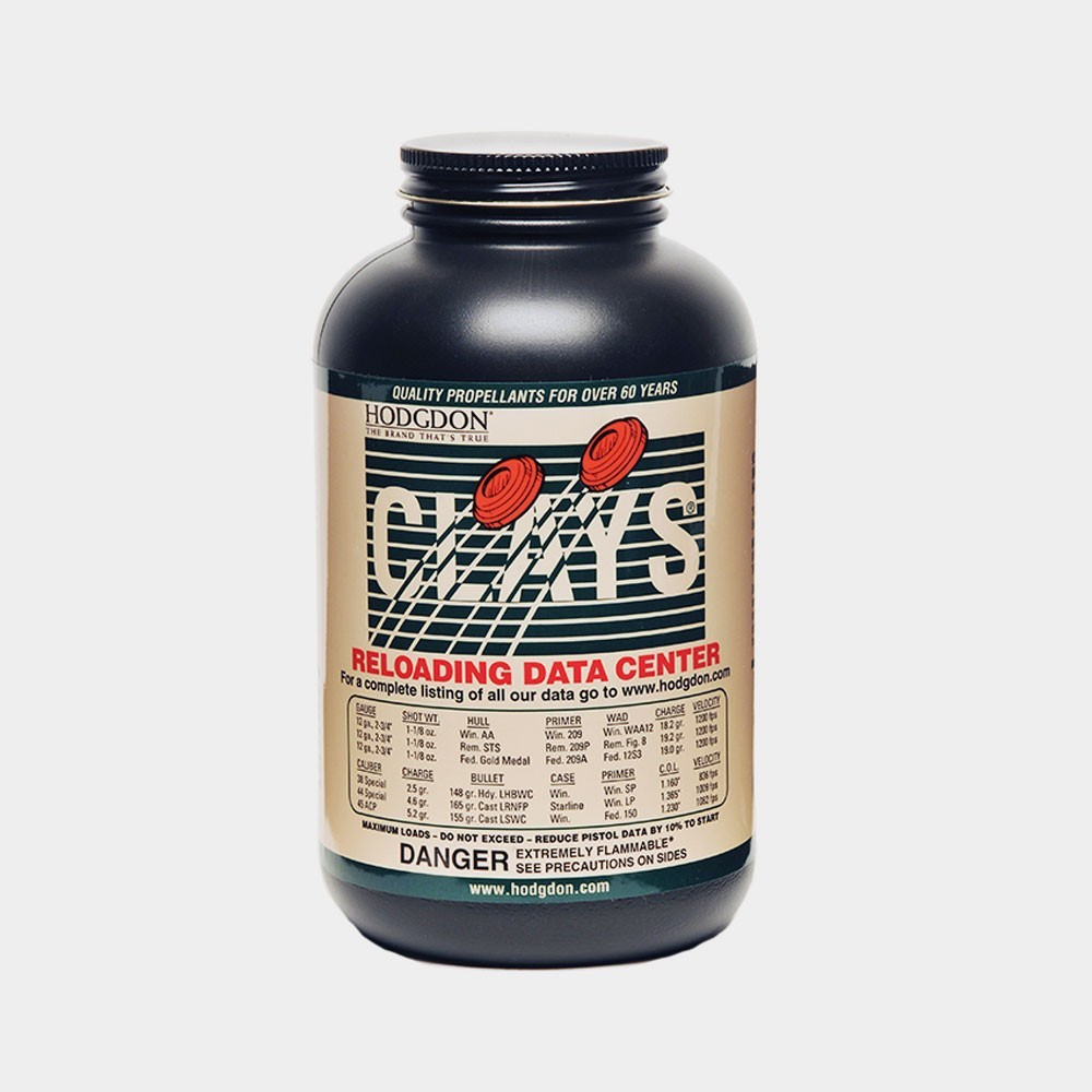 HODGDON - CLAYS 14oz Smokeless Powder