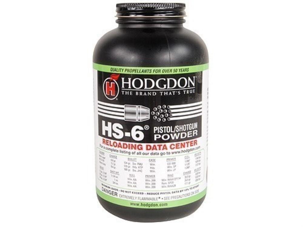 Hodgdon - HS-6 Smokeless Powder 1 lb