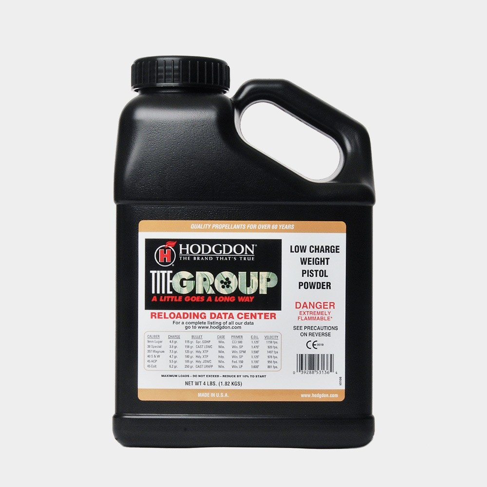 Hodgdon - TITEGROUP 4lb POWDER JUG