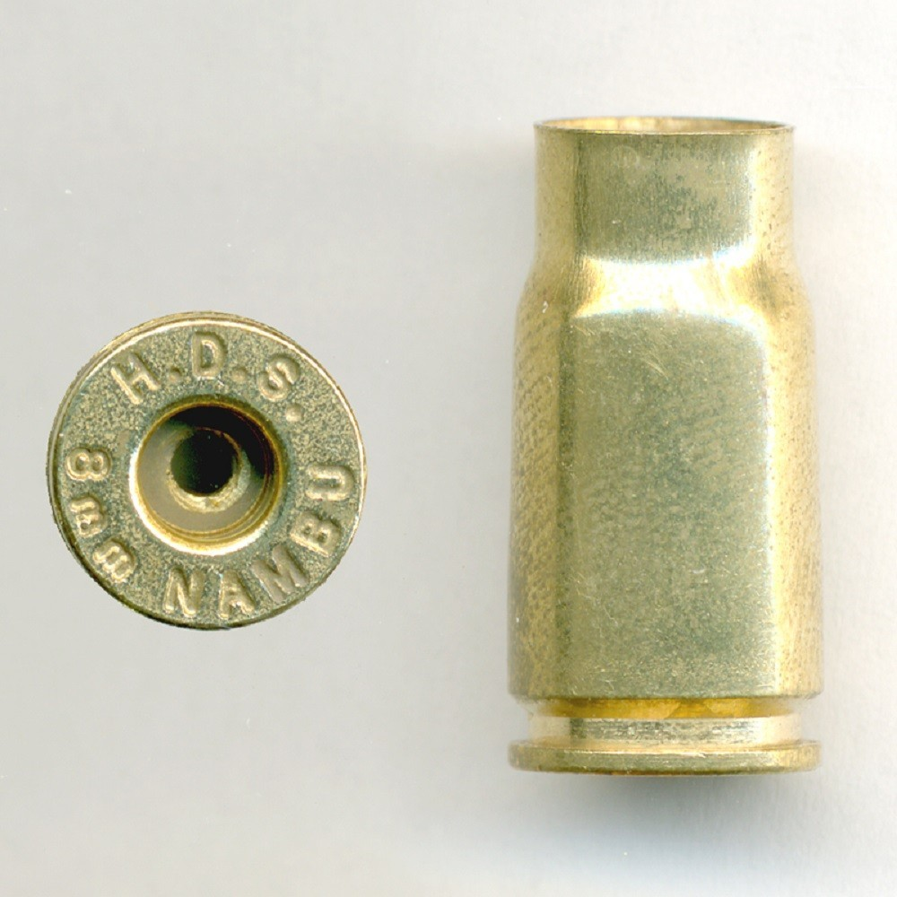 Huntinton Brass Specialties - BRASS 8MM NAMBU UNPRIMED PER 100