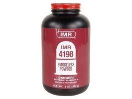 IMR - POWDER IMR 4198 1LB Smokeless Powder