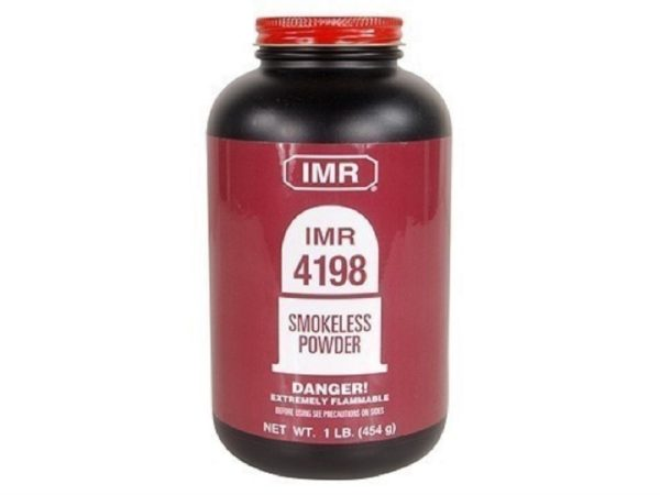 IMR - POWDER IMR 4198 1LB Smokeless Powder
