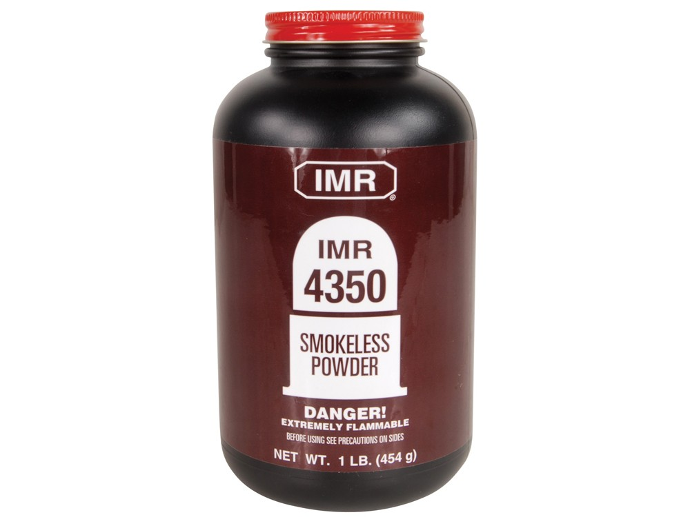 IMR - POWDER IMR 4350 1LB Smokeless Powder