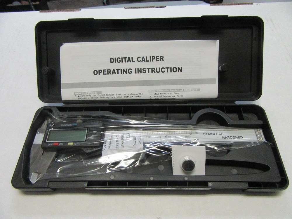 Vernier Calipers - 6 inch Stainless Digital Calipers