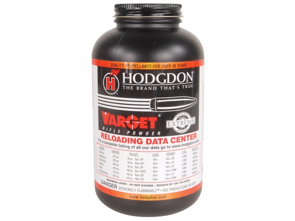 Hodgdon - VARGET 1lb Smokeless Powder