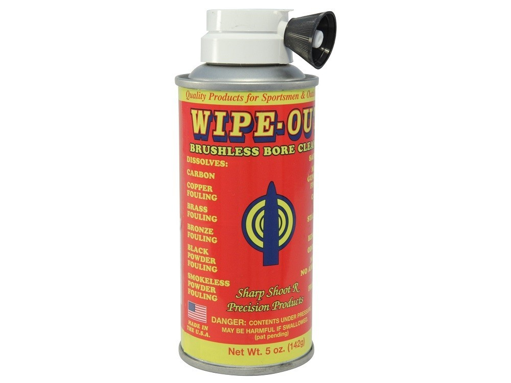 Sharp-Shoot-R - Wipeout Brushless/Bore Gun Cleaner 5.0oz Aerosol