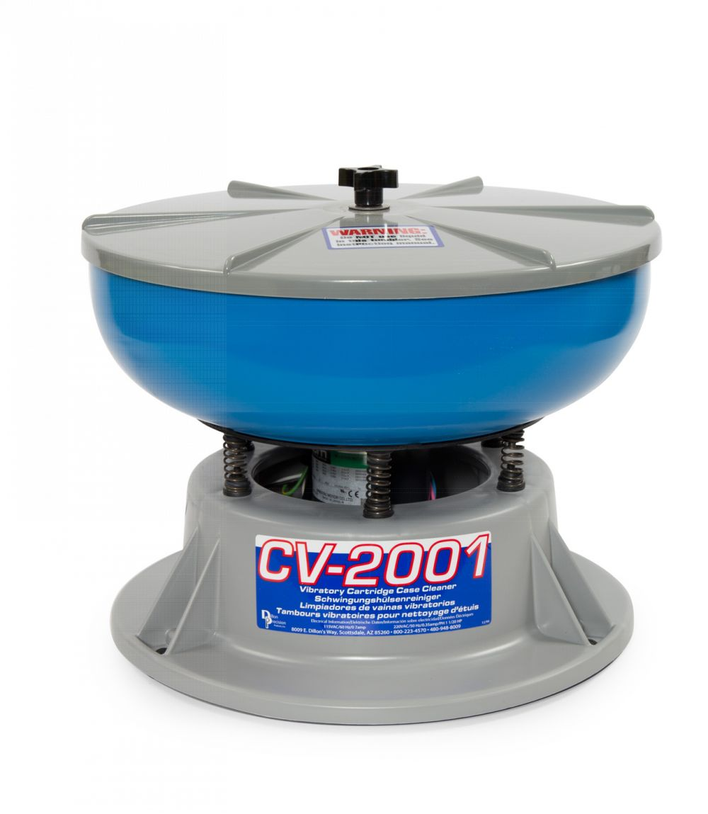 budget shooter supply dillon cv-2001 vibratory case cleaner  12 5qt bowl