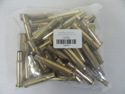 1Fired 30-30 brass
