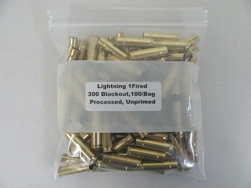 Lightning 300 Blackout Brass