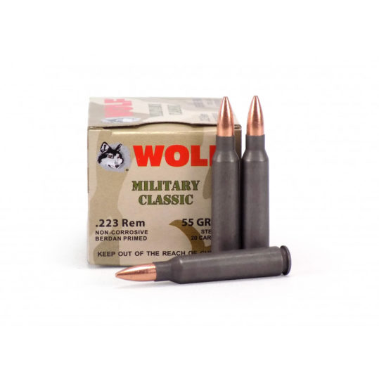 Wolf Military Classic 223 ammo
