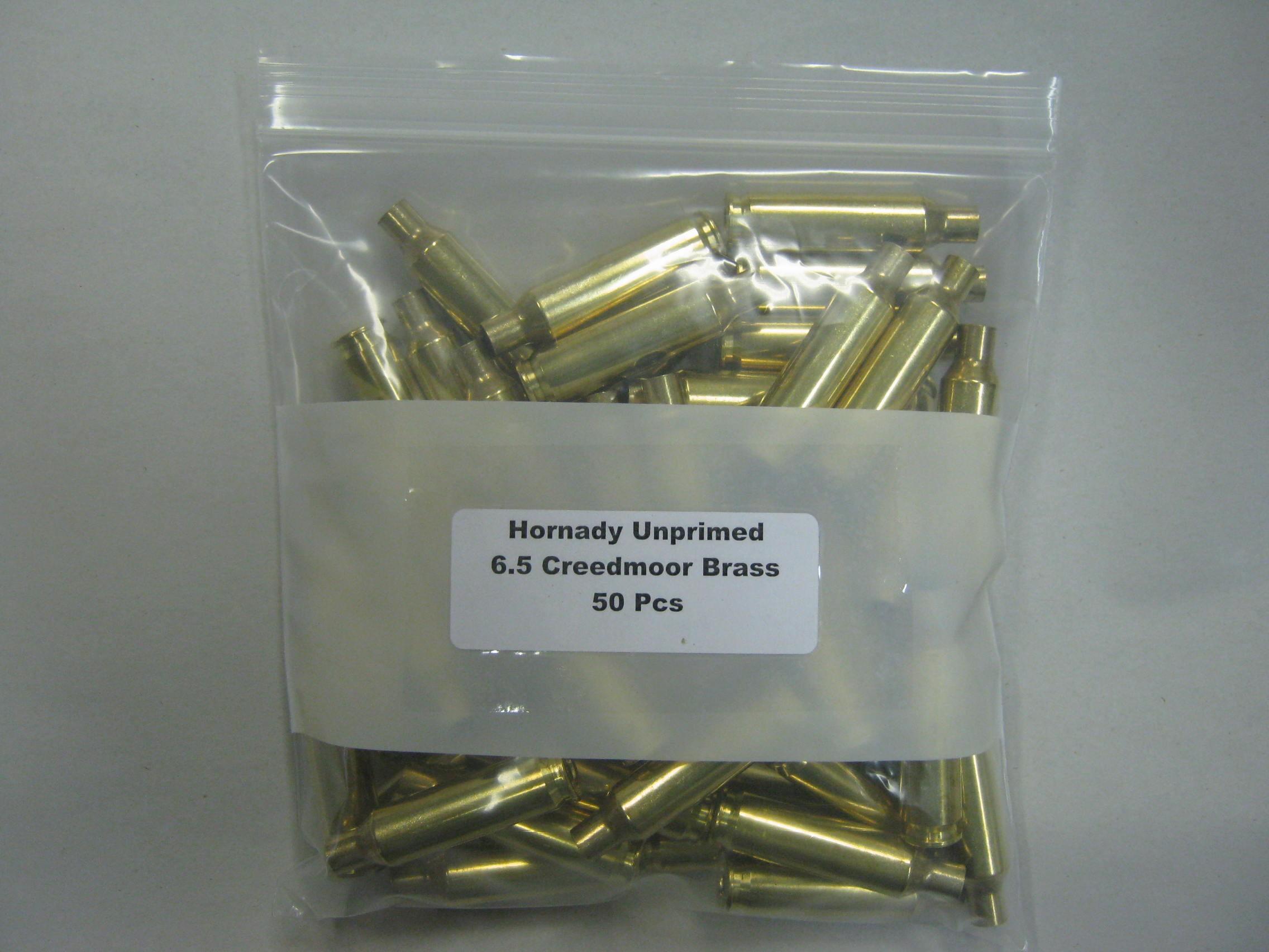Hornady 6 5 Creedmoor Reloading Brass 50/Bag